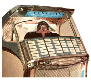 Original Wurlitzer Jukebox Ersatzteile und Zubehör